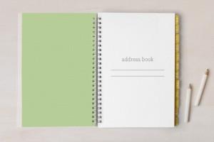notebook green_inside