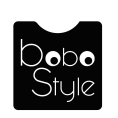 Bobo Style - logo wersja na białym tle